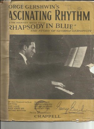 Fascinating rhythm - Old Sheet Music by Chappell