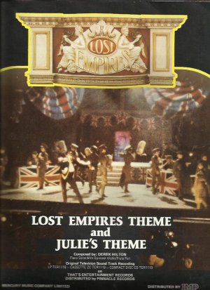 Lost Empires Theme & Julie's Theme - Old Sheet Music by Mercury