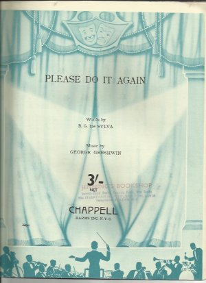 Please do it again - Old Sheet Music by Chappell