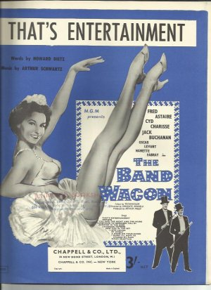 That's entertainment - Old Sheet Music by Chappell