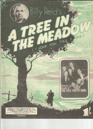 A tree in a meadow - Old Sheet Music by Campbell Connelly