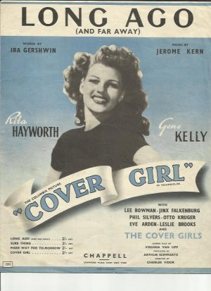 Long ago - Old Sheet Music by Chappell
