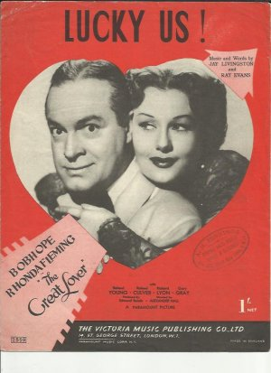 Lucky us - Old Sheet Music by Victoria