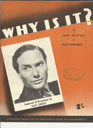Why is it - Old Sheet Music by Cinephonic