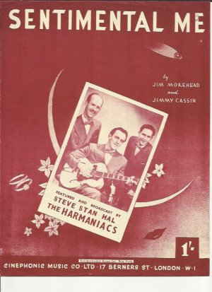 Sentimental Me - Old Sheet Music by Cinephonic