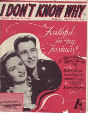 I don't know why - Old Sheet Music by Francis, Day & Hunter, Ltd.