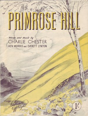 Primrose Hill - Old Sheet Music by Lawrence Wright
