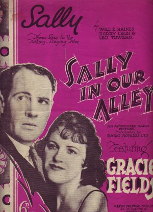 Sally - Old Sheet Music by Keith Prowse & Co Ltd