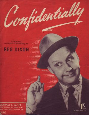 Confidentially - Old Sheet Music by Chappell