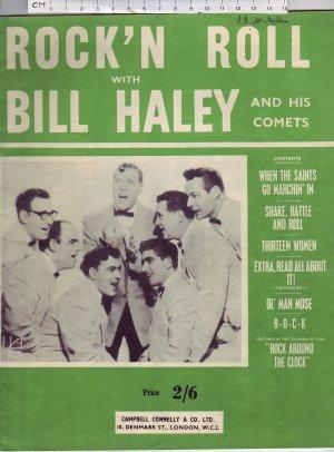 Rock'n Roll - Old Sheet Music by Cinephone Music Co. Ltd.