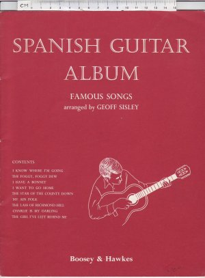 Spanish Guitar Album - Old Sheet Music by Boosey & Hawkes