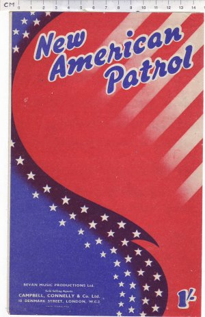 New American patrol - Old Sheet Music by Campbell Connelly