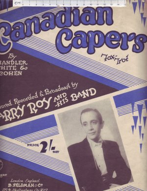 Canadian capers - Old Sheet Music by Feldman