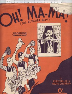 Oh Ma-Ma - Old Sheet Music by Francis Day & Hunter