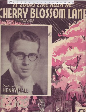 Cherry blossom lane - Old Sheet Music by Campbell Connelly