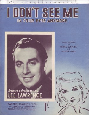 I don't see me - Old Sheet Music by Campbell Connelly