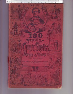 100 Popular Comic songs - Old Sheet Music by Chas Sheard & Co