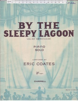 By The Sleepy Lagoon - Old Sheet Music by Chappell