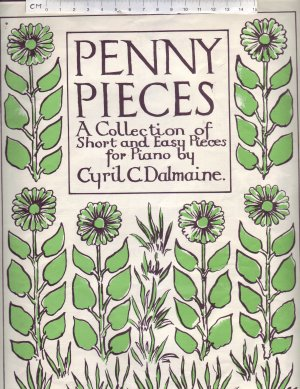 Penny Pieces - Old Sheet Music by Forsyth