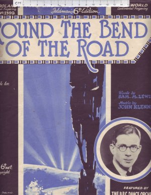 Round the bend of the road - Old Sheet Music by Feldman