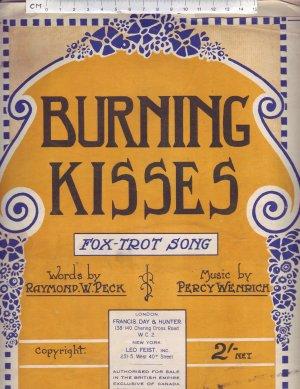 Burning Kisses - Old Sheet Music by Francis, Day & Hunter. Ltd.