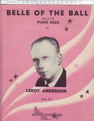 Belle of the ball - Old Sheet Music by Mills