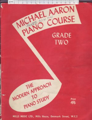 Michael Aaron Piano Course - Old Sheet Music by Mills Music Ltd.