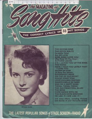 The Magazine of Song Hits. - Old Sheet Music by Unknown