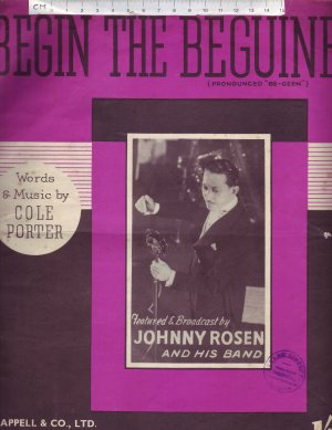 Begin the beguine - Old Sheet Music by Chappell