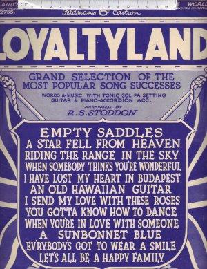 Loyaltyland - Old Sheet Music by Feldman