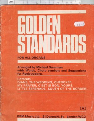 Golden Standards - Old Sheet Music by Keith Prowse & Co Ltd.