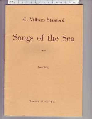 Songs of the Sea - Old Sheet Music by Boosey & Hawkes