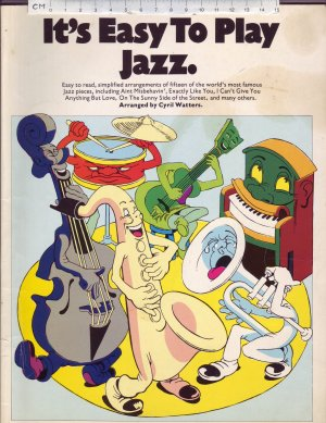 It's Easy To Play Jazz. - Old Sheet Music by Wise