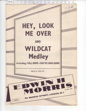 Hey look me over - Old Sheet Music by Morris