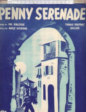 Penny Serenade - Old Sheet Music by World Wide Music