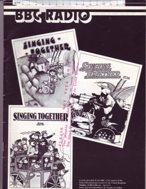 BBC Singing Together 1977-78 - Old Sheet Music by BBC