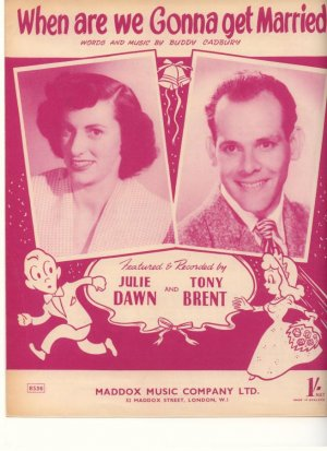 When are we gonna get married - Old Sheet Music by Madox Music Company Ltd